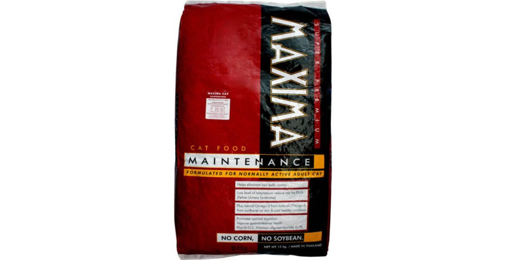 Maxima Cat Food